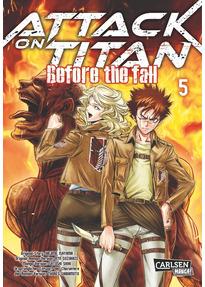 Attack on Titan - Before the Fall: Band 5 - Hajime Isayama [Taschenbuch]