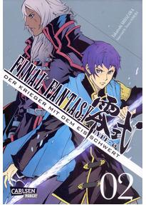 Final Fantasy - Type-0: Band 2 - Der Krieger mit dem Eisschwert - Takatoshi Shiozawa [Taschenbuch]
