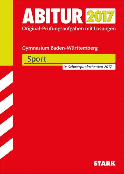 Abiturprüfung Baden-Württemberg - Sport[Taschen...