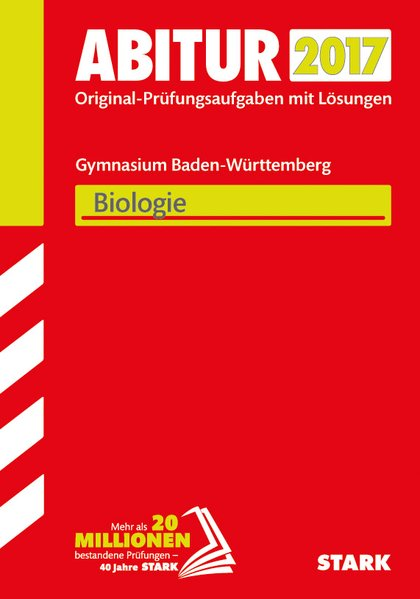 Abiturprüfung Baden-Württemberg - Biologie[Tasc...
