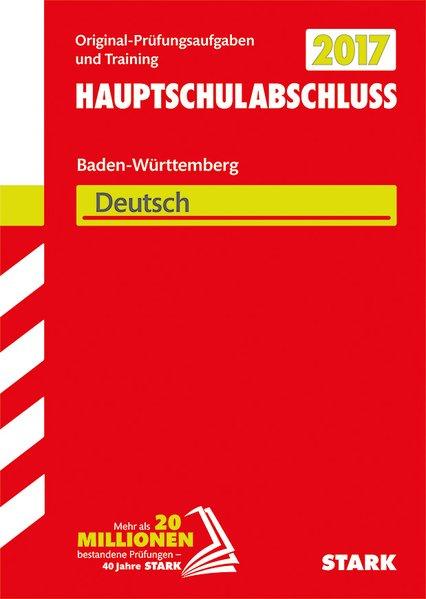 Abschlussprüfung Hauptschule Baden-Württemberg ...