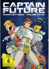 Captain Future - Komplettbox [8 Discs]