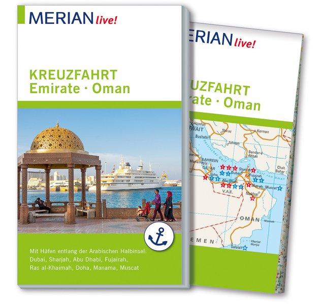 MERIAN live! Reiseführer Kreuzfahrt Emirate. Mi...