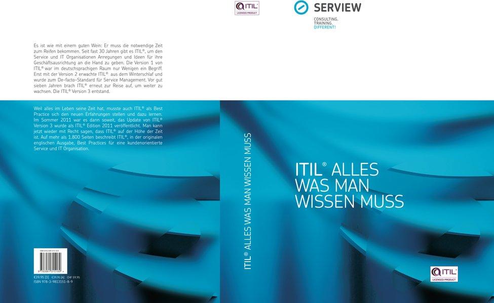 ITIL® - Alles was man wissen muss [Gebundene Au...