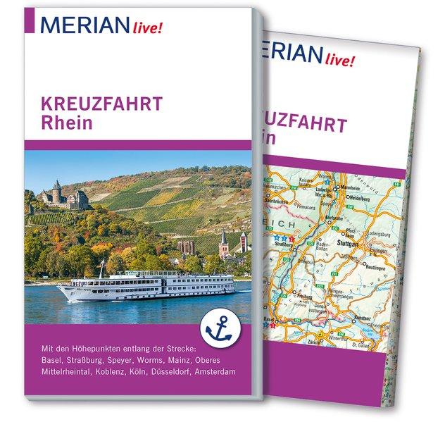 MERIAN live! Reiseführer Kreuzfahrt Rhein. Mit ...