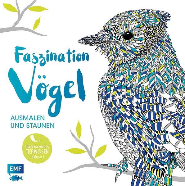 Faszination Vögel - Zum Ausmalen und Staunen. Ü...