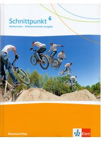Schnittpunkt Mathematik - Differenzierende Ausgabe für Rheinland-Pfalz / Schülerbuch 6. Schuljahr [Gebundene Ausgabe]