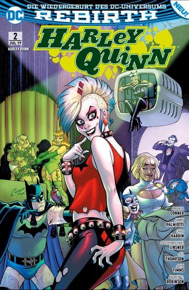 Harley Quinn: Band 2 - Undercover-Punker - Aman...