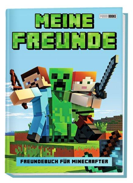 Meine Freunde - Freundebuch für Minecrafter [Ge...