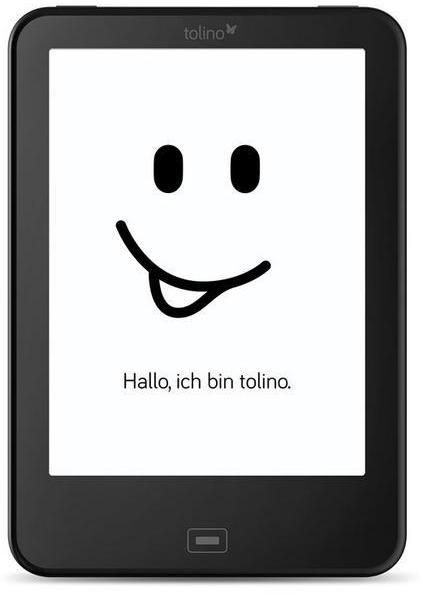 Tolino Vision 4 HD 6 8GB [Wi-Fi] schwarz