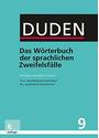 Duden - Das Wörterbuch der sprachlichen Zweifelsfälle: Band 9 - Richtiges und gutes Deutsch - Mathilde Hennig [Gebundene Ausgabe, 8. Auflage 2016]