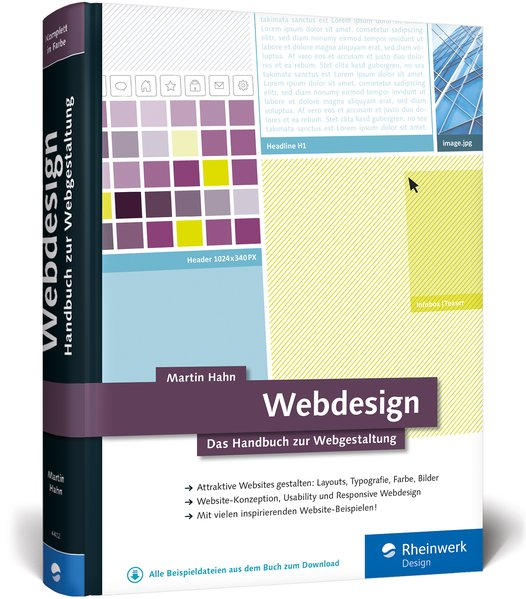 Webdesign. Das Handbuch zur Webgestaltung - Mar...