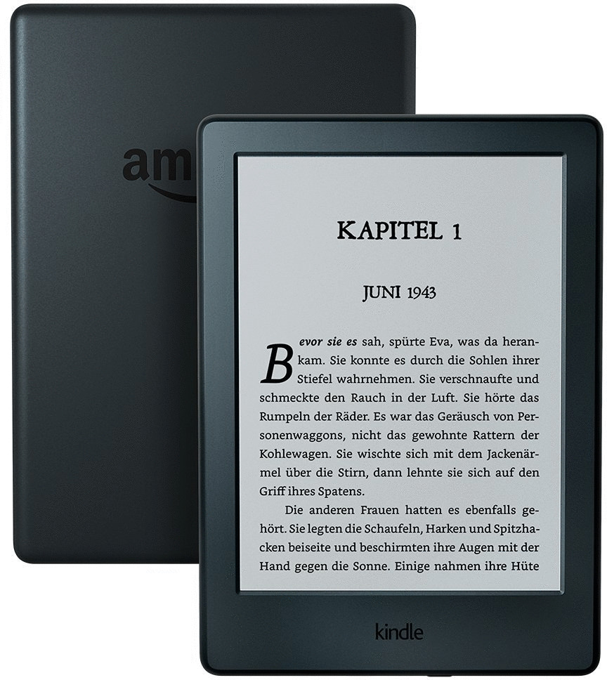 Amazon Kindle 6 4GB [Wi-Fi, 3. Generation] schwarz