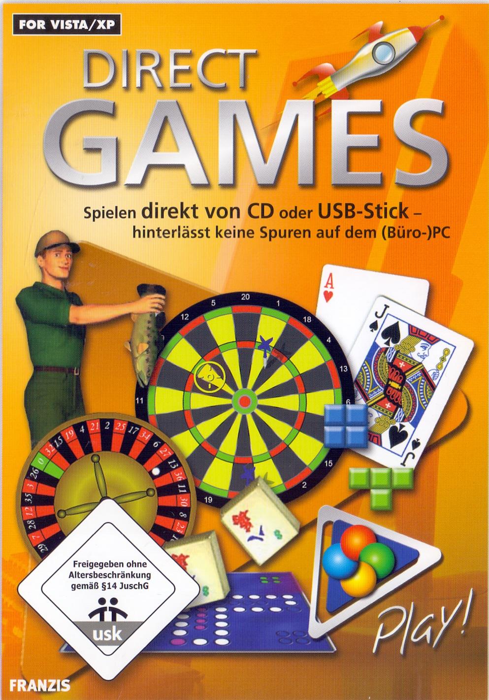 Direct Games - Spielen direkt von CD oder USB-Stick