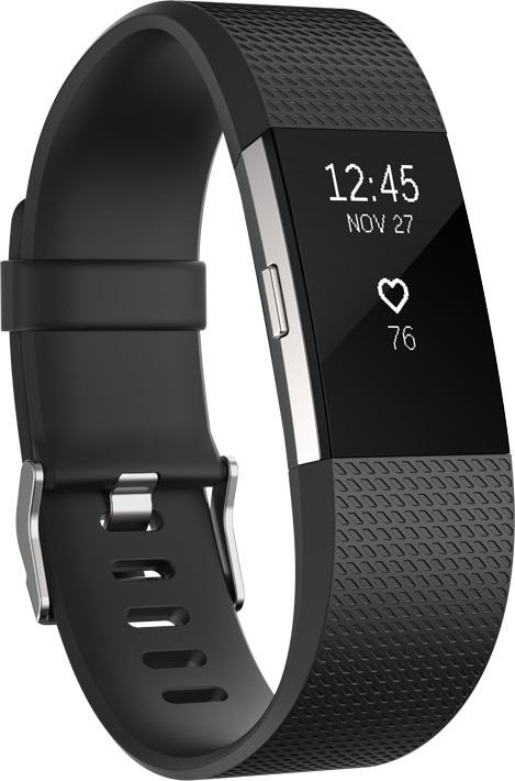 Fitbit Charge 2 Small schwarz