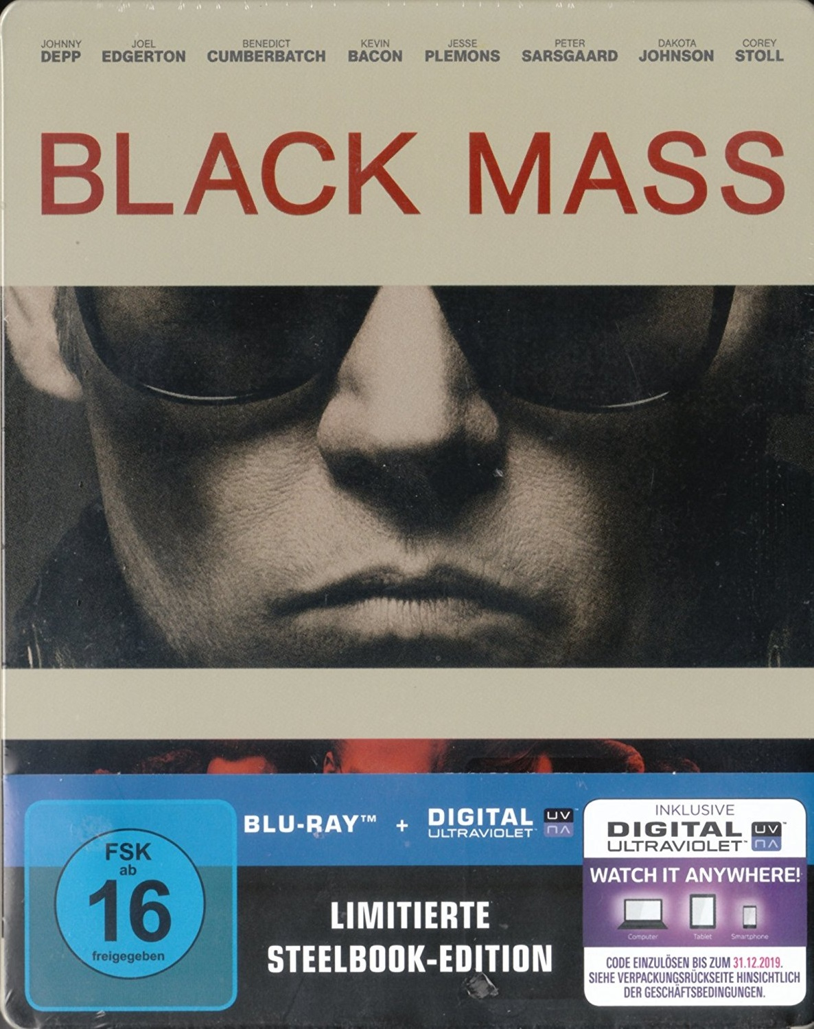 Black Mass [Limitierte Steelbook-Edition]