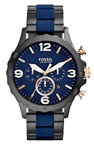 Fossil Nate Steel JR1494