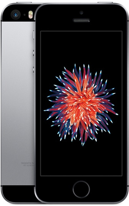 Apple iPhone SE 128GB space grau