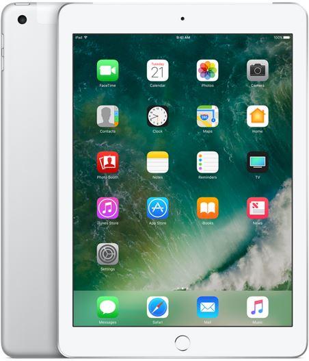 Apple iPad 9,7 128GB [Wi-Fi + Cellular, Modell 2017] silber