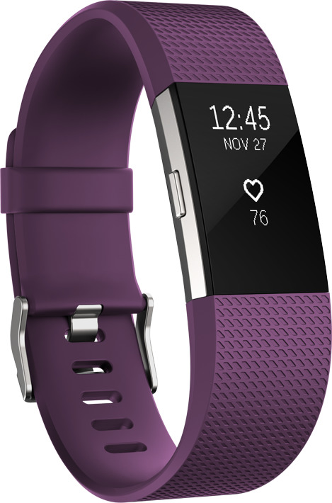 Fitbit Charge 2 Large pflaume