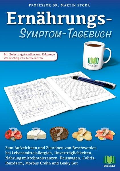 Ernährungs-Symptom-Tagebuch. Zum Aufzeichnen un...
