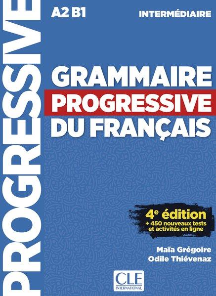 Grammaire progressive du français, Niveau intermédiaire. 4ème édition avec 680 exercices. Buch + Audio-CD [Taschenbuch]
