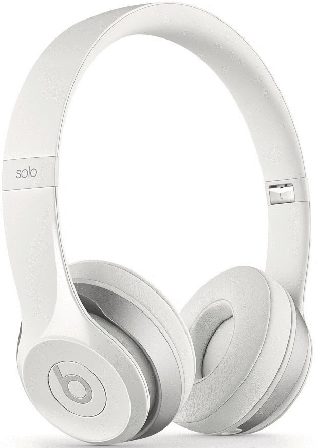 Beats by Dr. Dre Solo2 glanzend wit