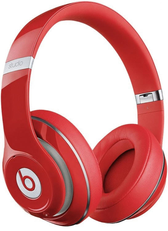 Beats by Dr. Dre Studio 2.0 rouge