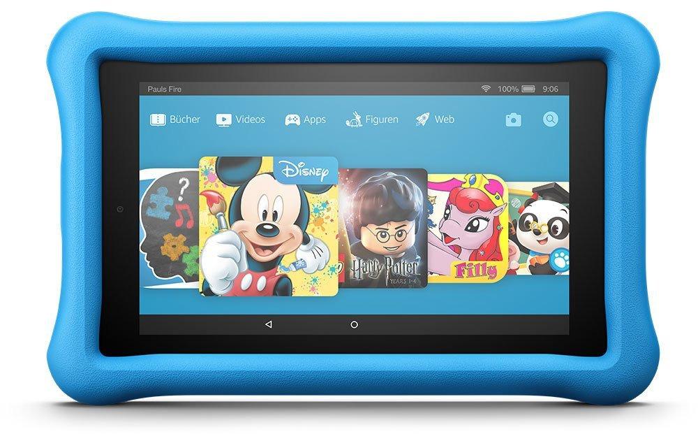 Amazon Fire 7 7 16GB [Wi-Fi, Kids Edition, Modell 2017] blau