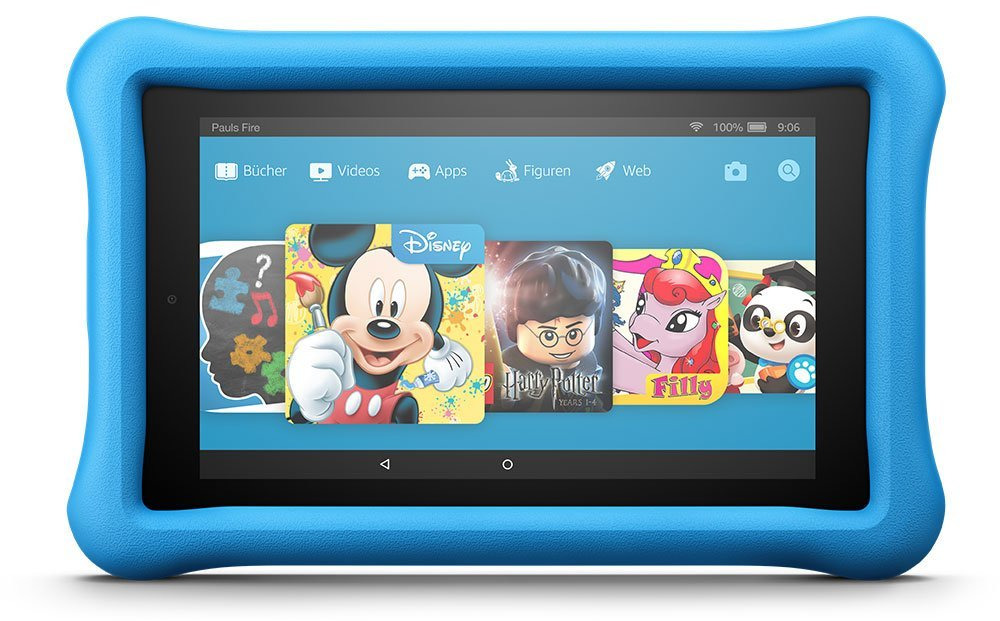 Amazon Fire HD 8 8 32GB [Wi-Fi, Kids Edition, Modell 2017] blau