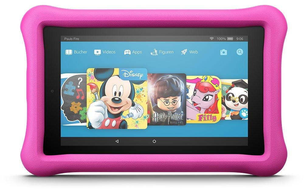 Amazon Fire HD 8 8 32GB [Wi-Fi, Kids Edition, Modell 2017] pink