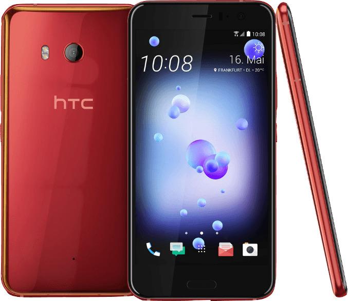 HTC U11 Dual Sim 64GB solar red