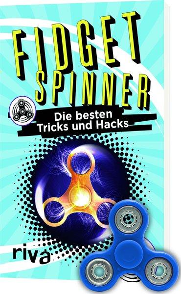 Fidget Spinner: Das Bundle mit Buch und Spinner - Max Gerlach [Taschenbuch]