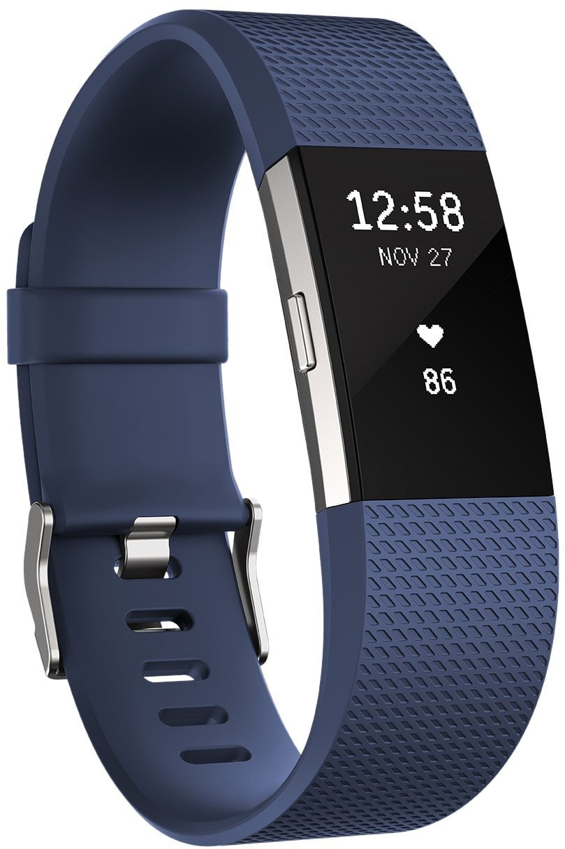 Fitbit Charge 2 Large blau