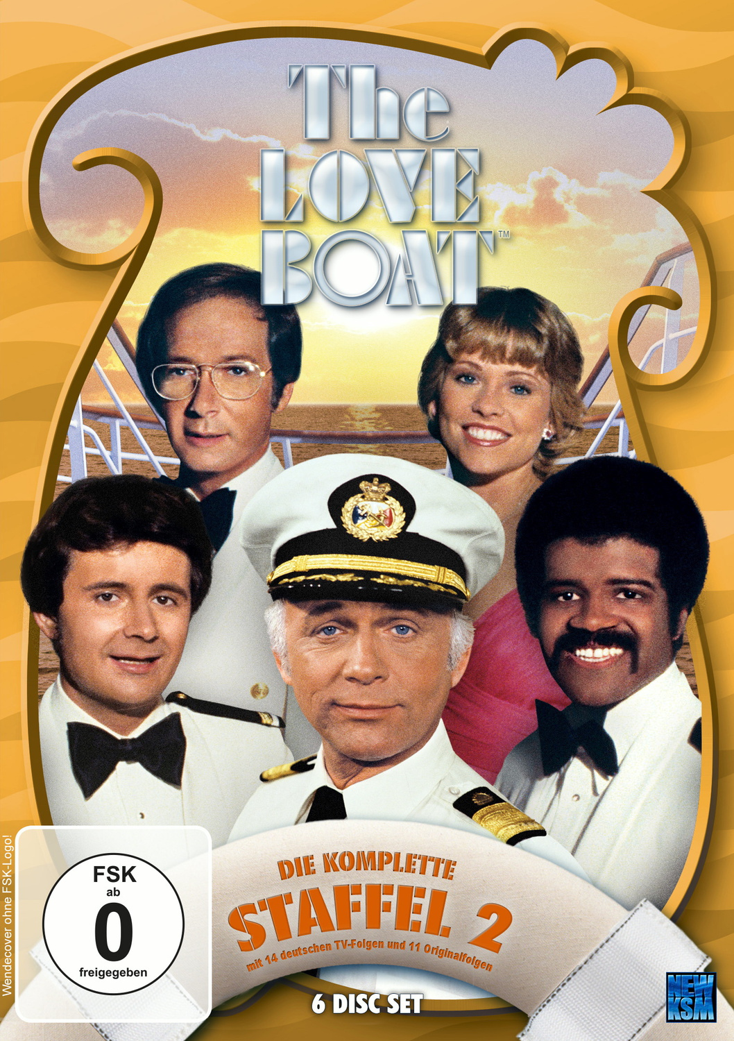 The Love Boat - Die komplette Staffel 2 [6 DVDs]