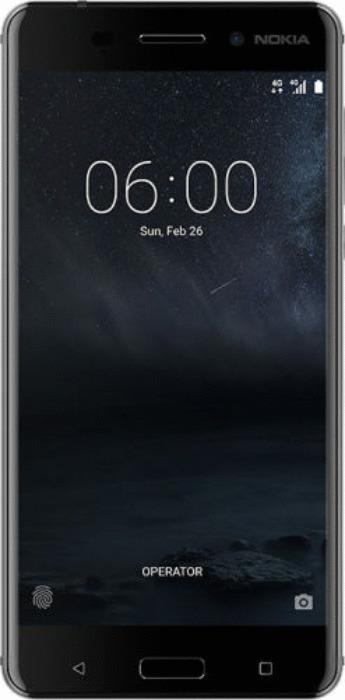 Nokia 6 Dual SIM 32GB mattes schwarz