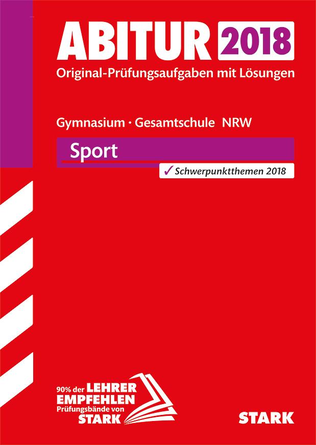 Abiturprüfung Nordrhein-Westfalen - Sport LK [T...