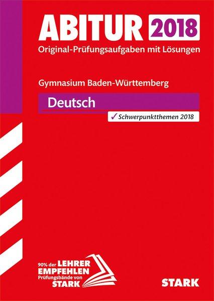 Abiturprüfung Baden-Württemberg - Deutsch [Tasc...