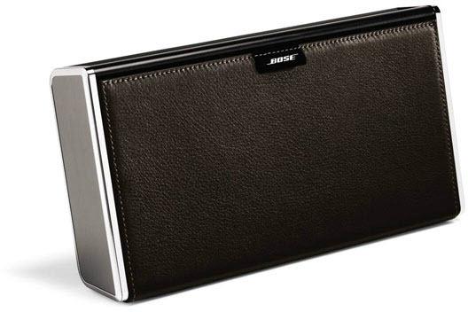 Bose SoundLink wireless mobile speaker dark brown leather