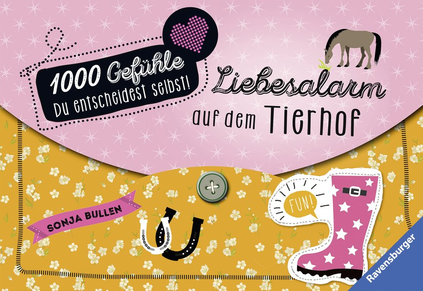 1000 Gefühle: Band 2 - Liebesalarm auf dem Tier...
