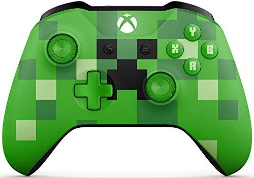 Microsoft Xbox One S Wireless Controller [Special Minecraft Edition] grün