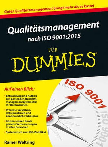 Qualitätsmanagement nach ISO 9001:2015 für Dumm...