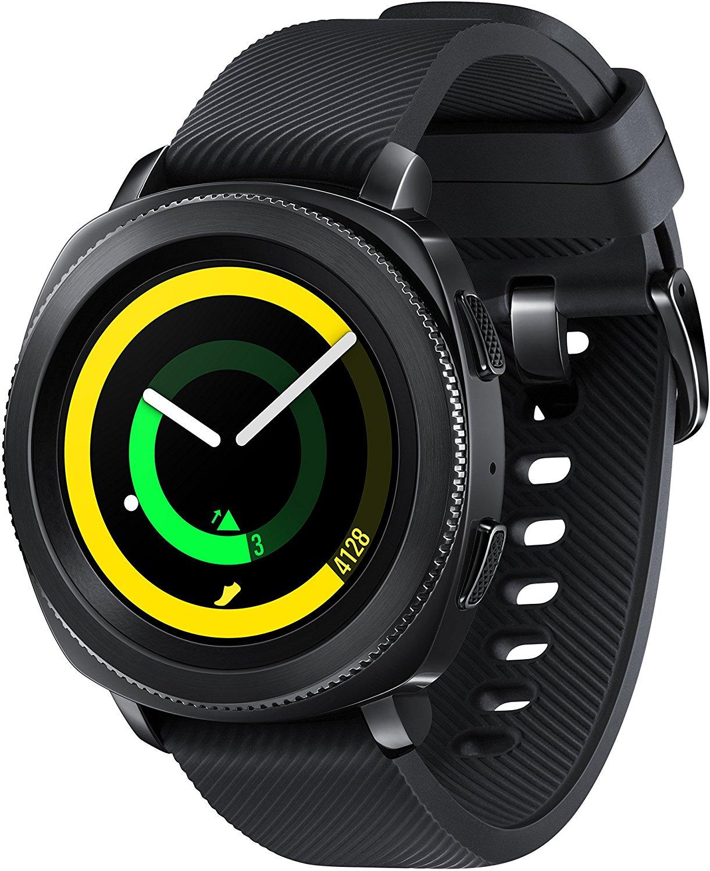 Samsung Gear Sport 30,2 mm schwarz am Silikonarmband black
