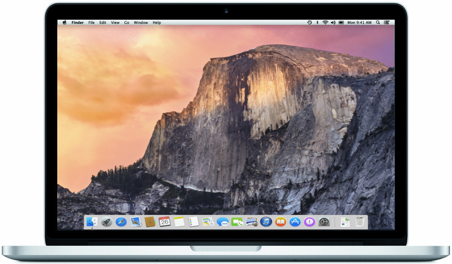 Apple MacBook Pro 13.3 (Retina Display) 2.7 GHz Intel Core i5 8 GB RAM 256 GB PCIe SSD [Early 2015, englisches Tastaturlayout, QWERTY]