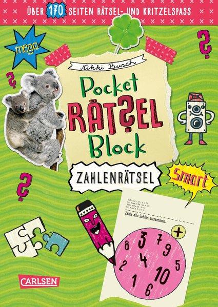 Pocket-Rätsel-Block: Zahlen-Rätsel. 100% Rätsel...