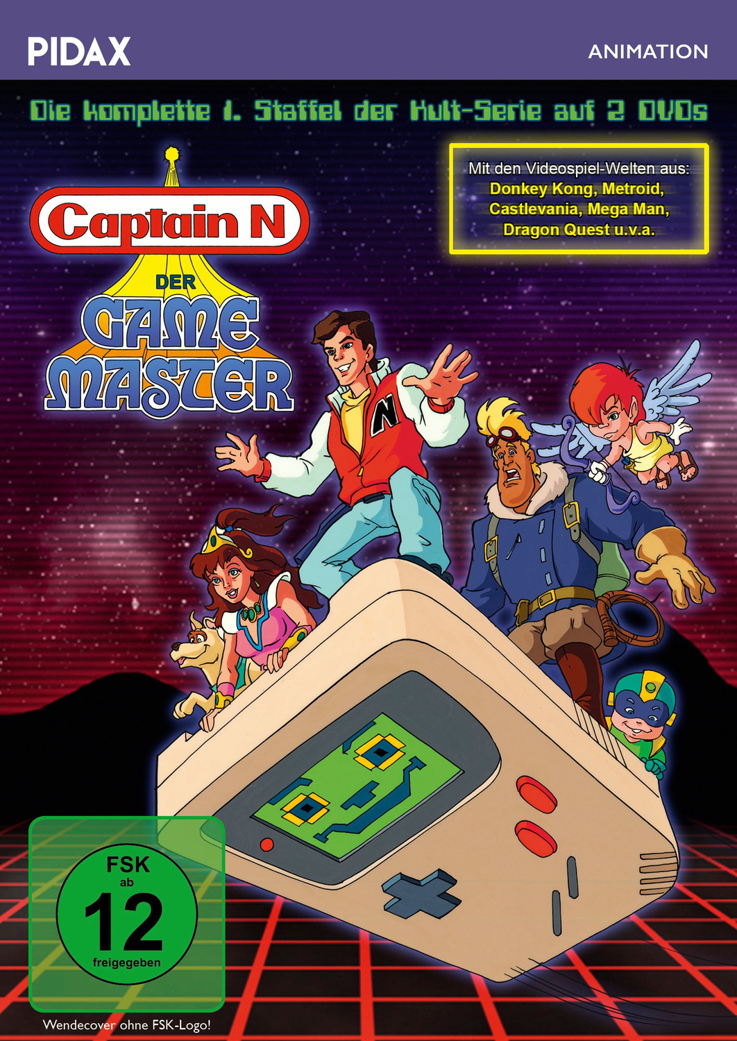Captain N - The Game Master [2 DVDs]