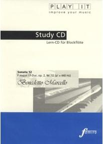 Various - Study-CD Recorder - Sonata 12,F-Dur,op.2,Nr. 12
