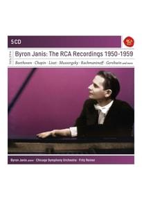 Janis,Byron - Byron Janis-The RCA Recordings 1950-1959 [5 CDs]