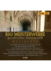 Various - 100 Meisterwerke geistlicher Chormusik [4 CDs]