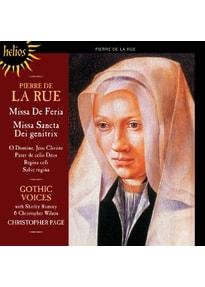 """Page/Gothic Voices - Missa """"De Feria""""/Missa """"Sancta Dei genitrix"""""""